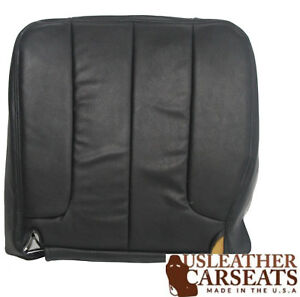 2002 2003 2004 2005 Dodge Ram Driver Side Bottom Vinyl Seat Cover Dark Gray