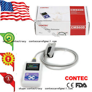 Usa Color Oled Spo2 Fingertip Pulse Oximeter spo2 Monitor Pc Software Ce Fda 60d