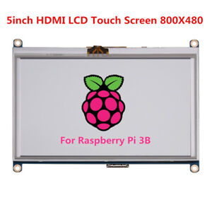 5inch Hdmi Touch Screen Tft Lcd Display Panel Module 800x480 For Raspberry Pi Bt