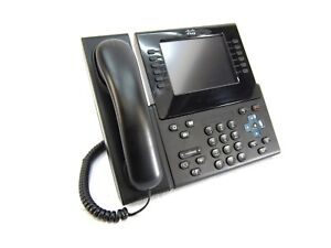 Cisco Cp 9971 Unified Ip Phone Voip With Handset Stand Cord