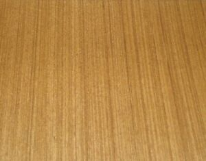 Teak Composite Wood Veneer 24 X 96 With Paper Backer 2 X 8 X 1 40th a