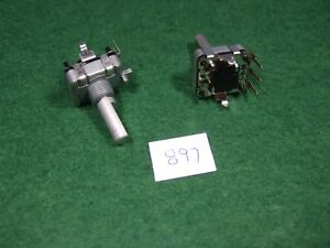 Pair Of Alps Ec16 Rotary Encoder W switch New