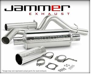 Edge 37701 Cat Back 4in Jammer Ss Exhaust System For Dodge Ram 5 9l Cummins