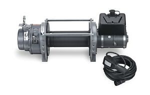 Warn 66032 Series Winch 15000 Pound Line Capacity Without Wire wired Remote