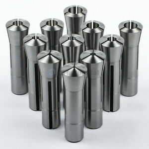 11 Piece R8 Collet Set 1 8 To 3 4 Fractional High Precision For Bridgeport