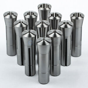 11 Pc R8 Collet Set 1 8 To 3 4 Fractional High Precision For Bridgeport