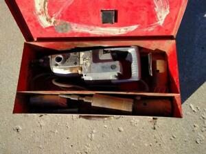 Milwaukee 5300 Heavy Duty Rotary Hammer Drill Case And Carbide Core Bits