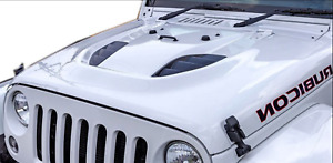 Jeep Wrangler Jk Power Dome Style Hood 2007 2017 10th Anniversary