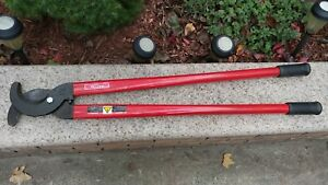 H k Porter Cable Cutter Linesman s Large 39 Electrical Cable Wire Cutter