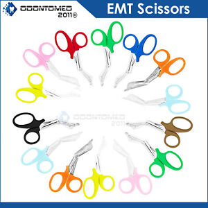 100 Emt Shears Scissor Bandage Paramedic Ems Supplies 5 5 10 Colors