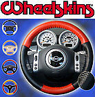 Jeep Perforated Custom Fit 1 Or 2 Color Leather Steering Wheel Cover Wheelskins