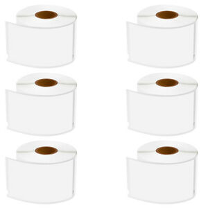 6 Roll Address Shipping Labels For Dymo 30256 Labelwriter 400 450 4xl 2 3 x4
