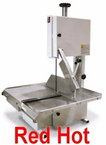 Omcan 10274 Bs br 1880 Commercial Tabletop Meat Band Saw 74 Blade 5 Hp