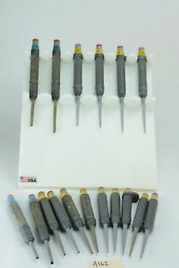 Set Of 17 Eppendorf Variable Volume Pipettor Pipette 5 1000 Ul Lot