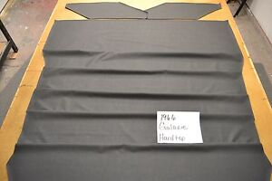 1966 66 Ford Galaxie 2 Door Hardtop Black Headliner Usa Made Top Quality