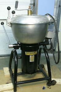 Hobart Stephan Berkel Vcm 40 40qt Vertical Tilt Cutter Chopper Mixer W Wheels