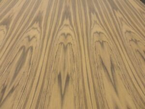 Teak Wood Veneer Sheet 24 X 96 With Paper Backer 1 40th Thickness a Grade