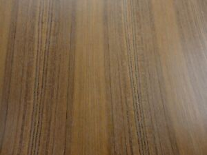 Teak Quarter Wood Veneer 24 X 48 With Paper Backer 1 40th Thickness a Grade