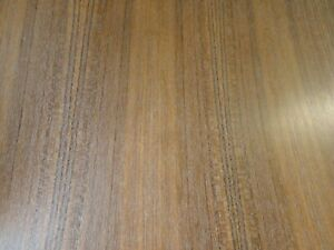 Teak Quarter Wood Veneer 24 X 96 With Paper Backer 1 40th Thickness a Grade