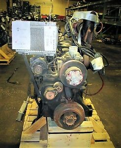 John Deere 6081 Diesel Engine Take Out Turns 360 Good For Rebuild Only