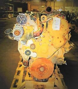 2006 Cat C15 Nxs Diesel Engine Take Out 466 625 Hp Good For Rebuild Only