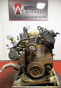 Cat C12 Diesel Engine Take Out