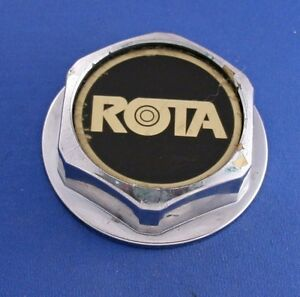 Rota Screw On Plastic Chrome Center Cap Cap 3596 3 3 4