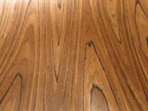 Teak Composite Wood Veneer Sheet 48 X 96 With Paper Backer 1 40 Thick Efw