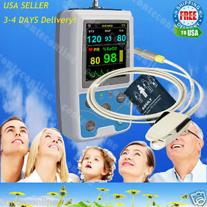 24 Hours Patient Monitor Ambulatory Blood Pressure Spo2 Pr Analysis Softwear