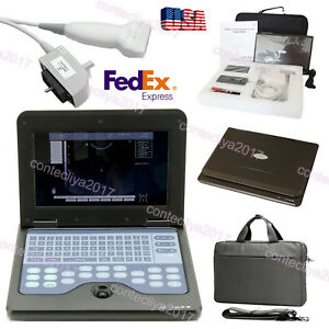 Usa Fedex portable Laptop Machine Digital Ultrasound Scanner 7 5m Linear Probe