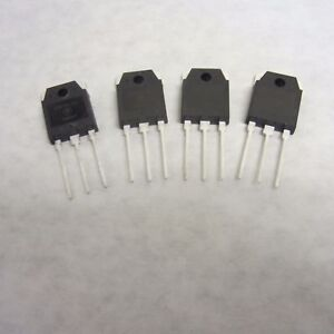Lot Of 4 Erf9530 100 Watt Pep Rf Power Mosfet Transistor In To 3pn Package