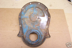 1980 S 1990 S Chevy Big Block 454 Engine Block Timing Chain Cover