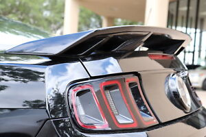 Painted California Special Style 4 Post Spoiler Fits 2010 2014 Ford Mustang
