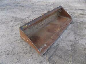 Cat 80 Bucket For Skid Steer Loaders Quick Attach Will Fit Many Makes models