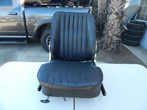 R107 1984 1989 560sl 380sl Seat With Frame Left Black Heated Type
