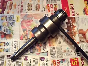 Morse 2 Tapping Head With Morse 3 Taper Adaptor Efem Made In Germany