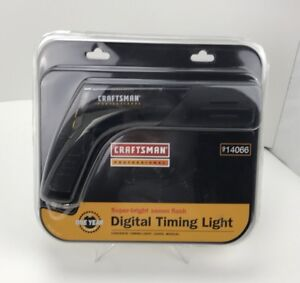 Craftsman Professional Digital Timing Light 14066 New