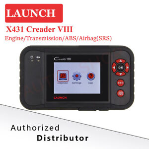Launch X431 Creader Viii Obd2 Auto Diagnostic Scanner Tool Code Reader Abs Srs