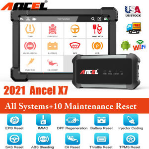 Innova 6100p Abs Srs Airbag Reset Obd2 Auto Code Reader Diagnostic Scanner Tool
