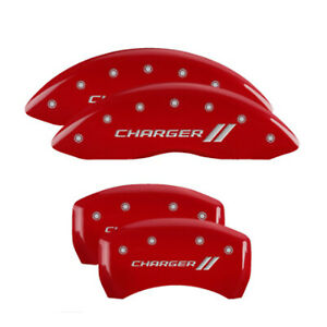 Mgp 12181sch1rd Red Set Of 4 Logo Caliper Covers For Charger Sxt Pursuit