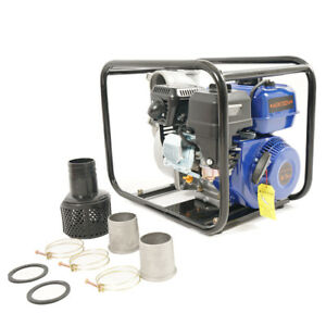 Multi purpose Pump 6 5hp Gas Water Pump Semi Trash Pump 2 Inlet outlet 132gpm