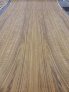 Teak African Wood Veneer 48 X 96 With Peel And Stick psa Adhesive 1 40th Aa