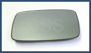 Porsche 928 944 911 Door Mirror Glass For Power Mirror Flat Left Genuine New