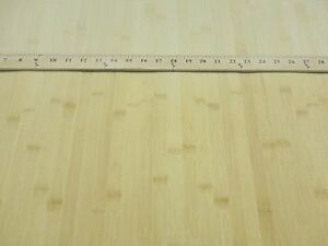 Blonde Natural Bamboo Wood Veneer Sheet 48 X 96 Paper Back 1 40th Thickness