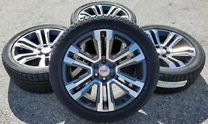 2017 Gmc Sierra 1500 Yukon Xl Denali 22 Wheels Rims Tires Sle Midnight Silver