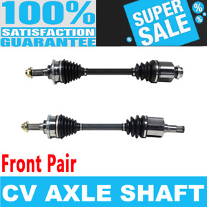Front 2x Cv Joint Axle Shaft For Mazda Mpv 00 01