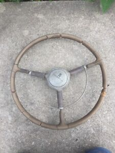 1939 Oldsmobile Steering Wheel With Horn Button