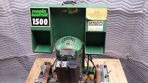 Meplamat 1500 Hinge Boring Hinge Press Machine For Cabinet Shop