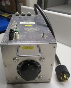 Staco 1010 3 Variable Auto Transformer 120 208vac 3 phase 60 Or 400hz
