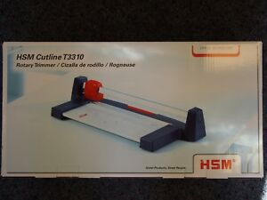 Hsm Cutline T3310 Rotary Trimmer Paper Cutter Great For Scrapbooking